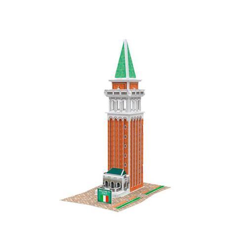 4D 紙雕模型-意大利-(聖馬可鐘樓)