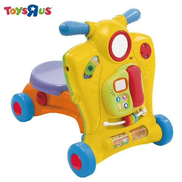 BRU小熊寶雲二合一寶寶學步車 獨家發售 玩具反斗城