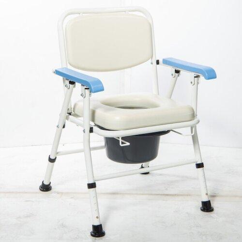 均佳 日式鐵製收合便器椅 JCS-103