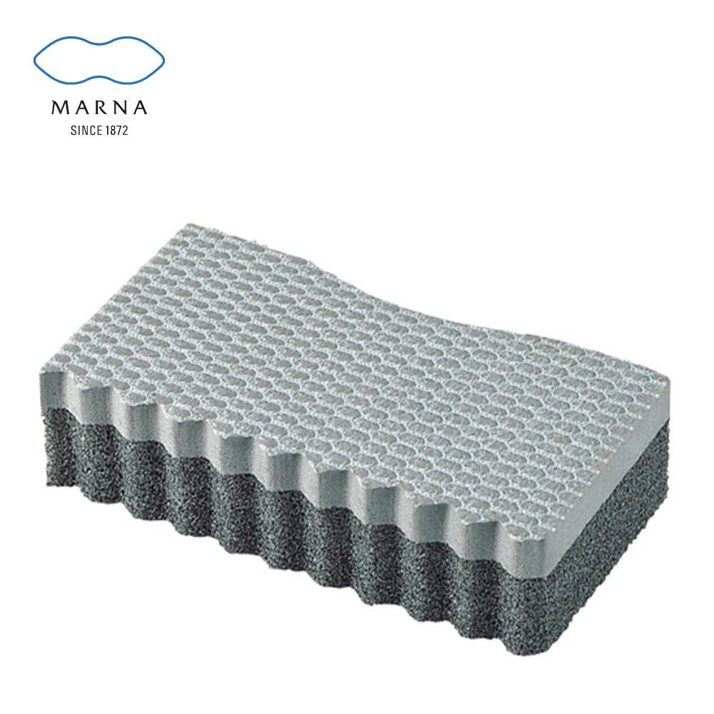 marna 日本進口砂窗及凹凸面海綿刷2入組