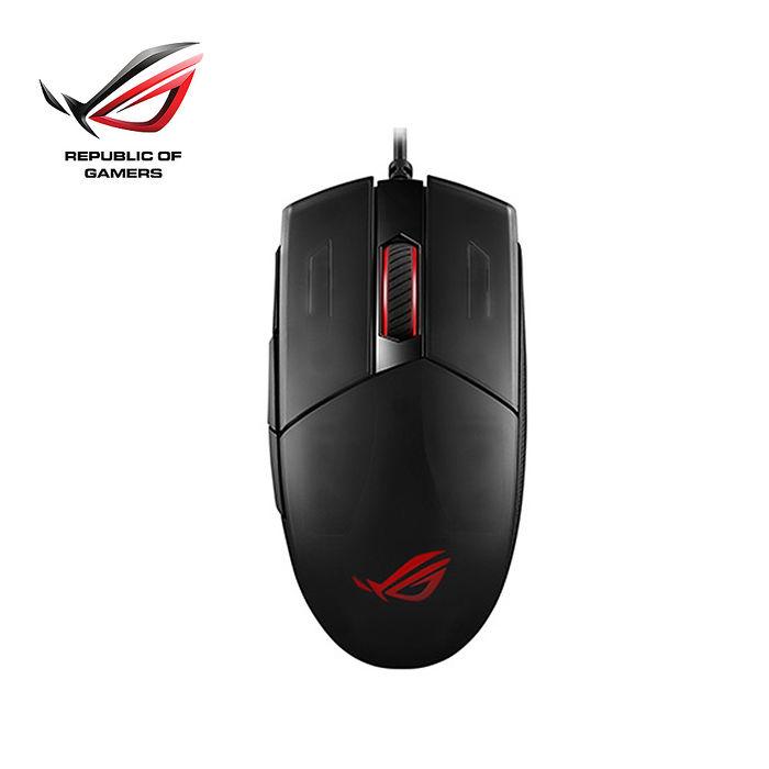 【贈電競鼠線夾】ASUS華碩 ROG STRIX IMPACT II RGB電競滑鼠(預購)