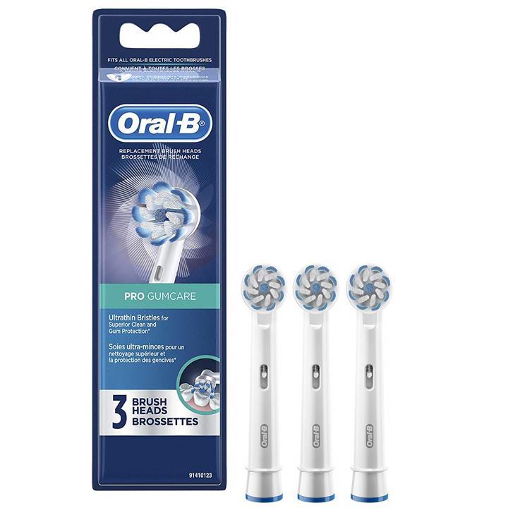 【美國代購】Oral-b Pro牙齦護理電動牙刷替換頭 3支