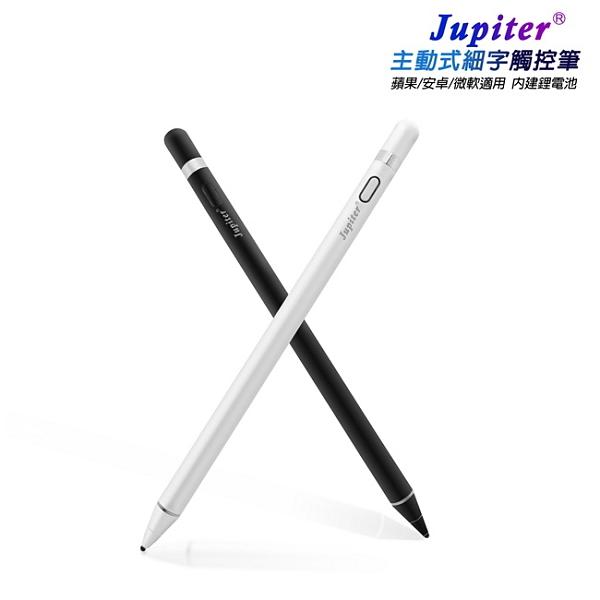 【TP-D63】Jupiter精緻款主動式細字電容式觸控筆(附USB充電線)