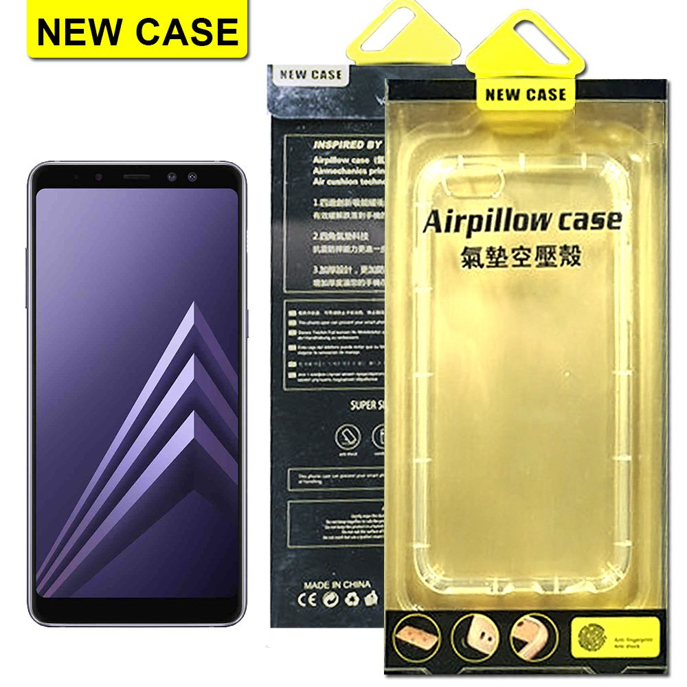 NEW CASE Samsung Galaxy A8 2018 氣墊空壓殼