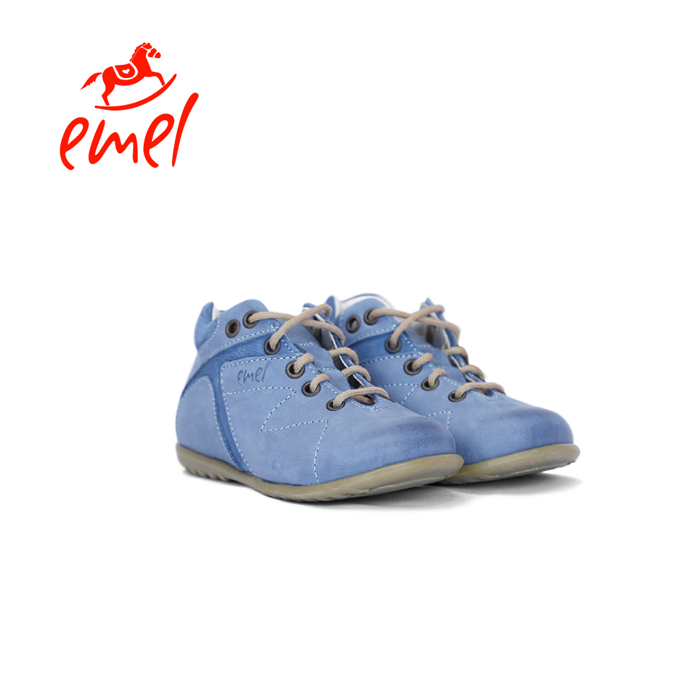 【Emel】波羅的海(綁帶低筒鞋-藍)