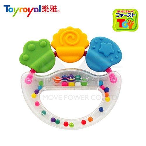 日本《樂雅 Toyroyal》固齒搖鈴【3M以上】 TF3164