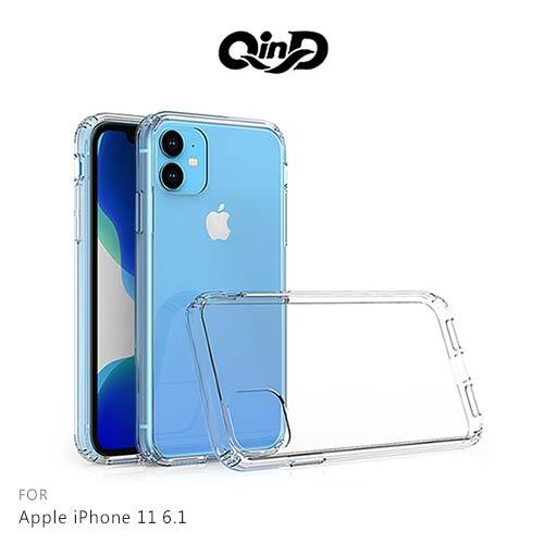 QinD Apple iPhone 11 6.1 雙料保護套