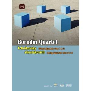 【麗音影音】柴可夫斯基:第一、二號弦樂四重奏 鮑羅定四重奏 DVD