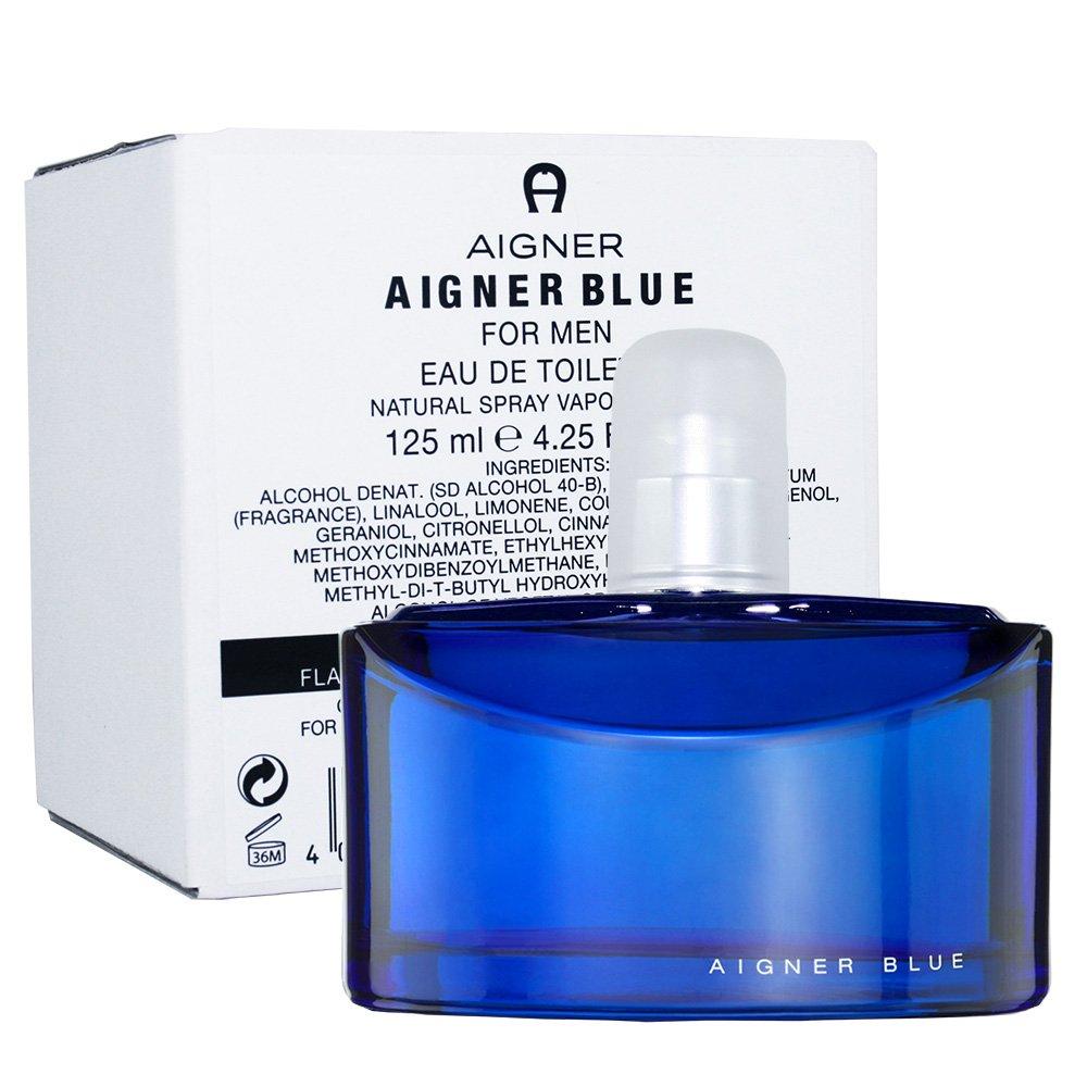 AIGNER BLUE 藍色經典 男性淡香水 125ml (TESTER-環保盒無蓋)