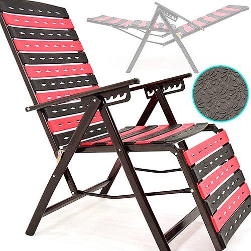 多角度海灘休閒椅(露營椅斜躺椅)