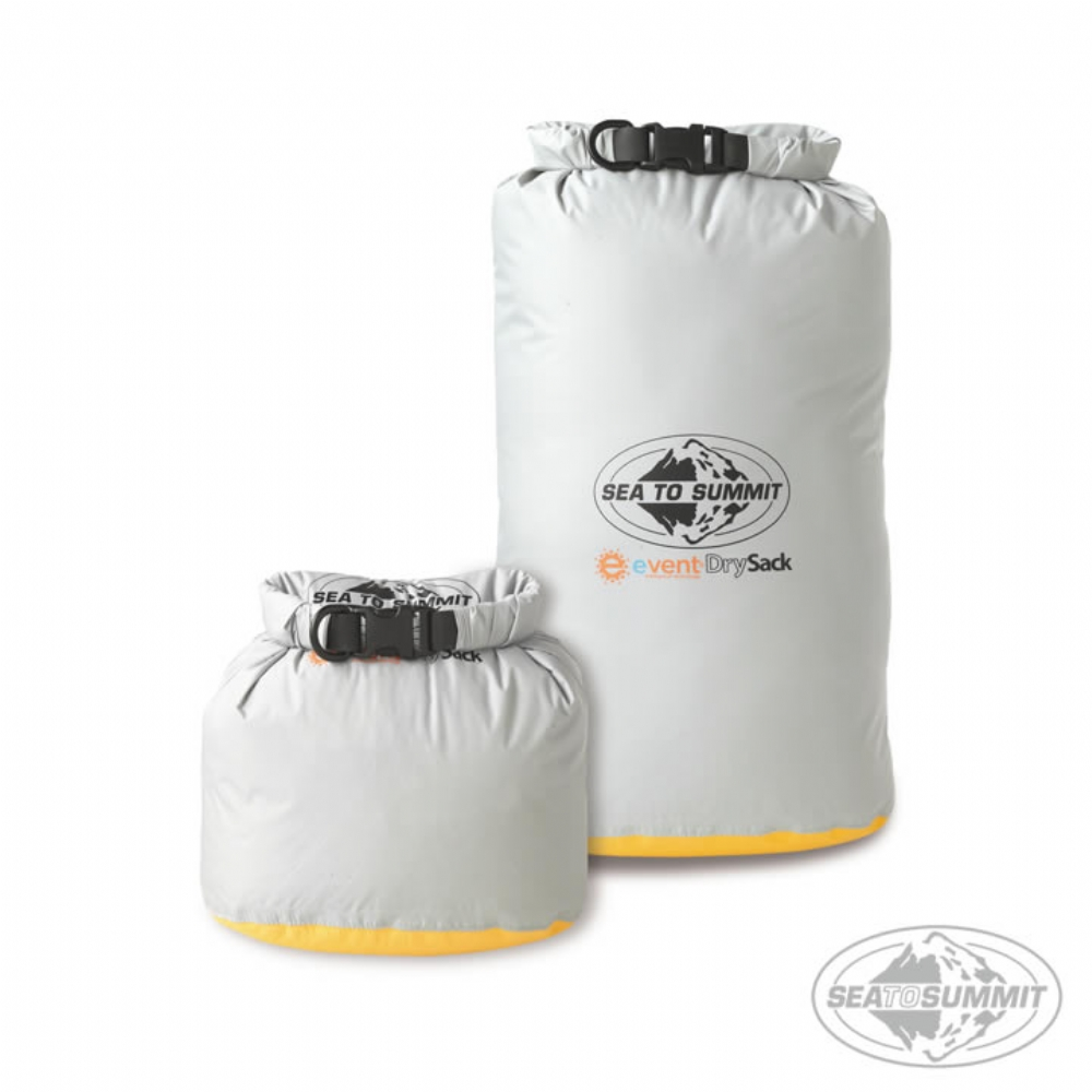 SEATOSUMMIT 70D EVENT 透氣防水收納袋(3L) 灰色