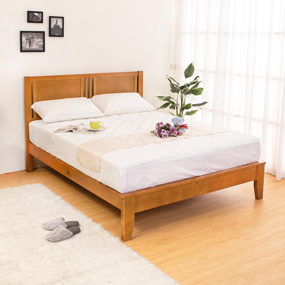 Boden-蒂琪5.2尺實木雙人床架