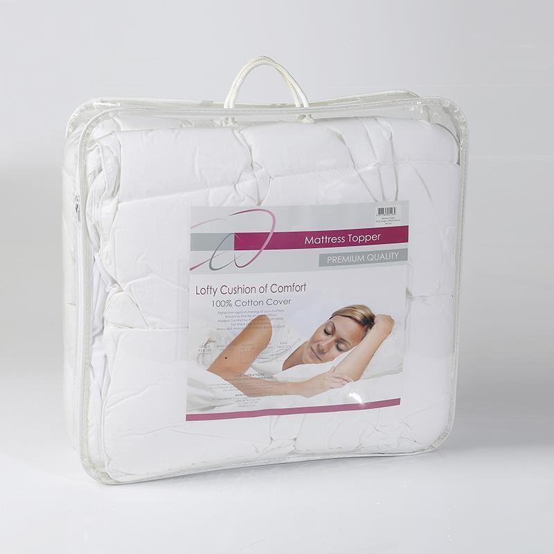 Bedding Online Mattress Topper White
