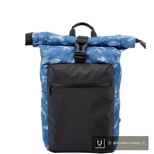 【US.STYLE】登山滑板防水後背包(淺藍)