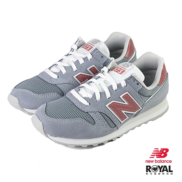 New balance 373 灰藍色 麂皮 休閒運動鞋 女款 NO.J0524【新竹皇家 WL373DD2】