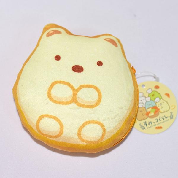 角落小夥伴 好像麵包 多功能拉鏈 錢包 化妝包 隨身包 日本限定正版 san-x