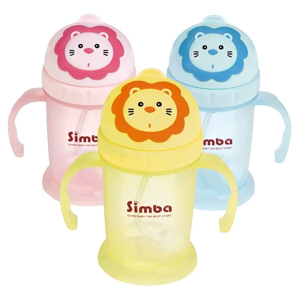 Simba小獅王辛巴辛巴滑蓋樂活杯(240ml) (黃色)168元