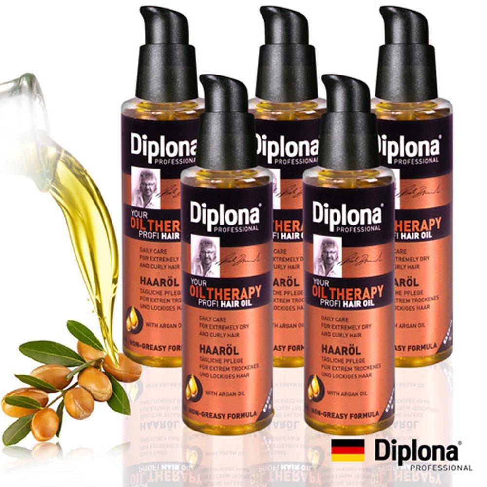 【德國Diplona】專業級摩洛哥堅果護髮油100ml(5入熱銷組)