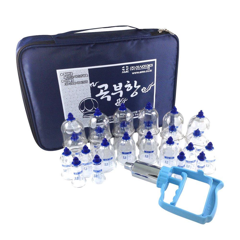 AME 韓國原裝24杯專業拔罐組