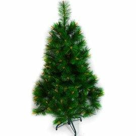 摩達客-台灣製 4呎/4尺(120cm)特級綠松針葉聖誕樹裸樹 (不含飾品)(不含燈)(本島免運費)