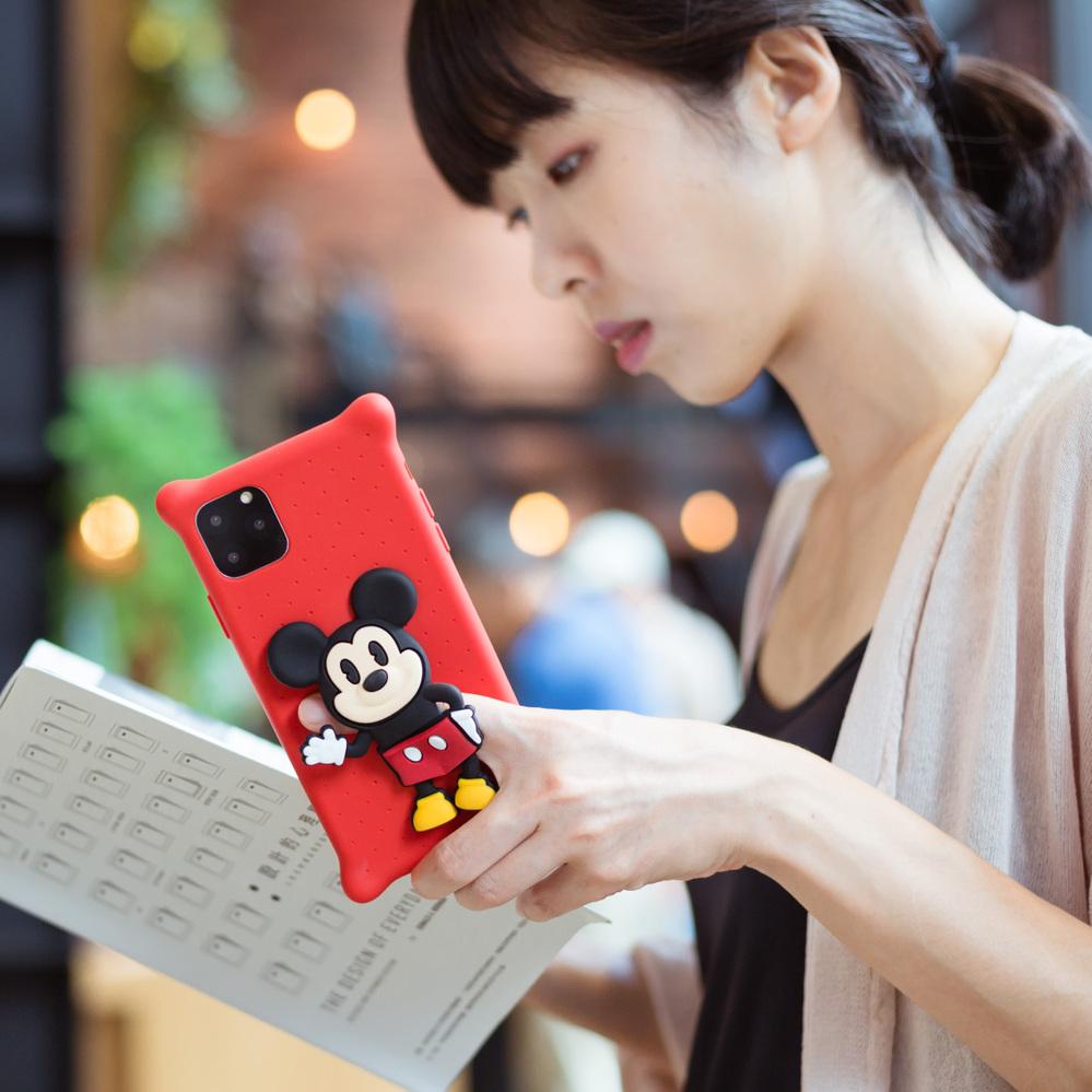 Bone / iPhone 11 公仔保護套 手機殼 - 米奇