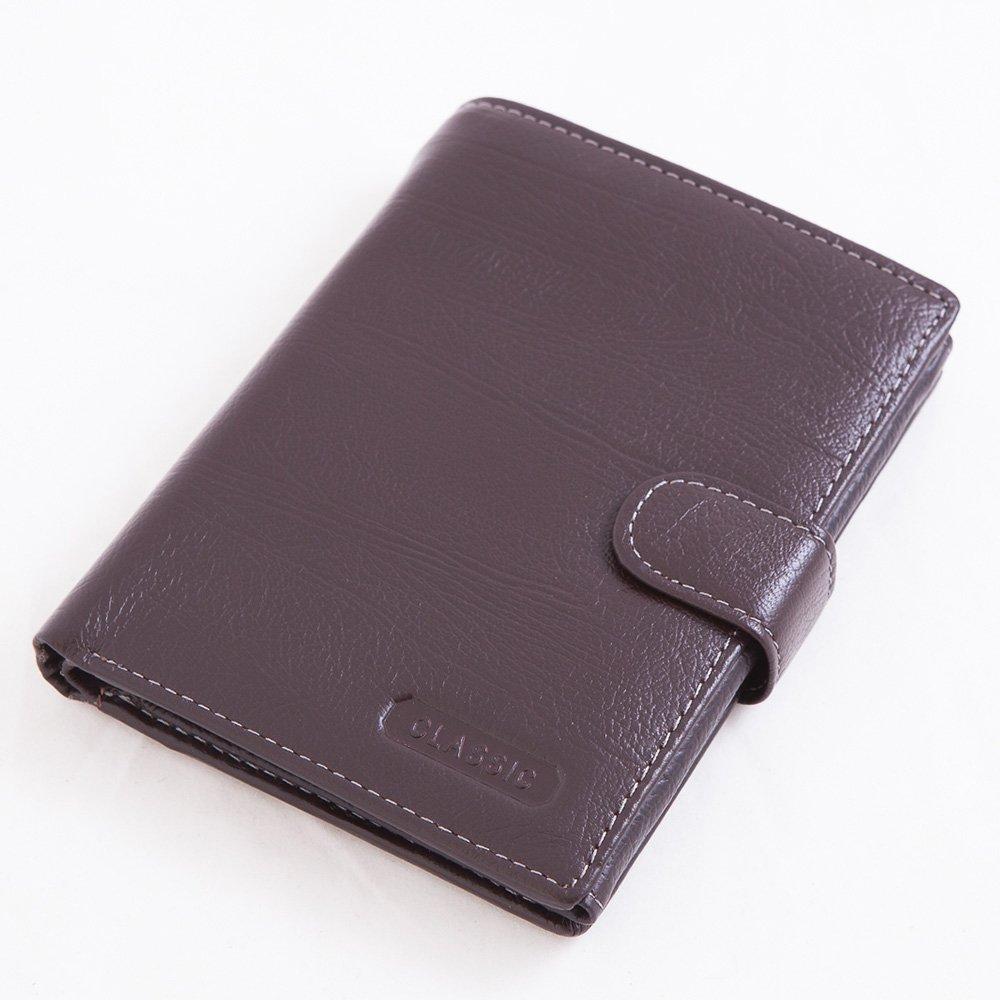 ABS愛貝斯 護照夾 直式真皮 2活頁8卡雙層鈔票層拉鍊隔層零錢層(咖)7070-025