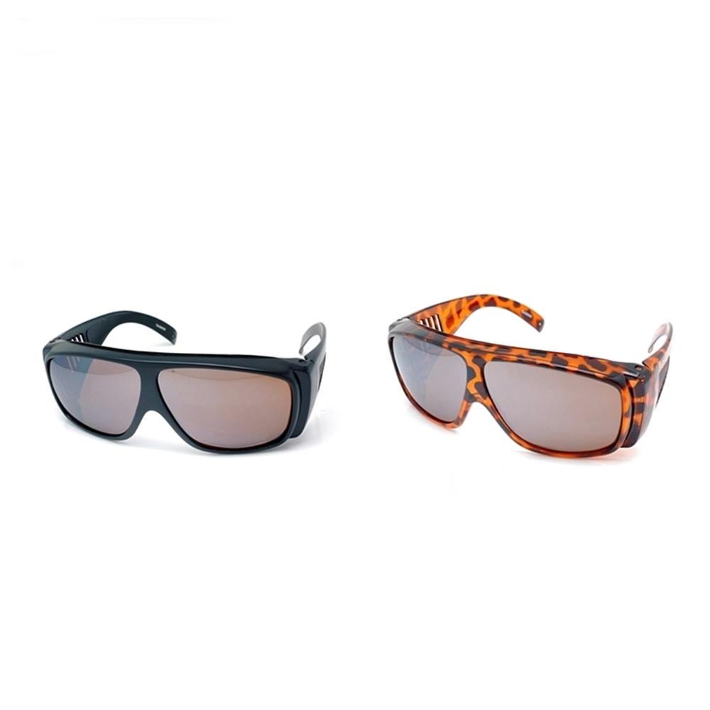 台灣PHOTOPLY二合一防藍光眼鏡+防飛沬太陽眼鏡703(抗藍光94%+紫外線100%+紅外線50%)可再戴眼鏡