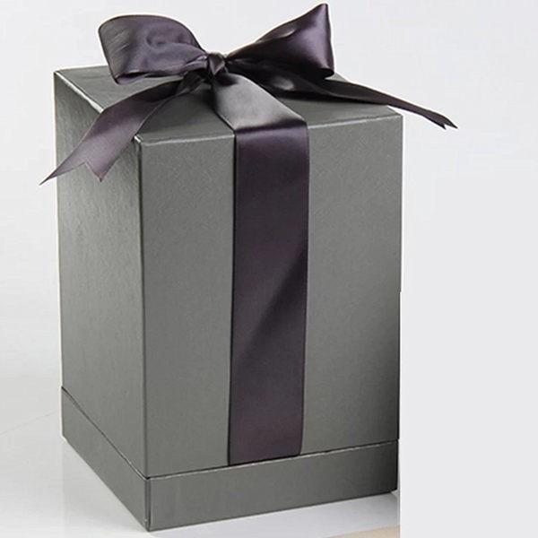 永生花玻璃罩高端韓式海綿禮盒附小卡