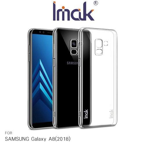 Imak SAMSUNG Galaxy A8(2018) 羽翼II水晶殼(Pro版)
