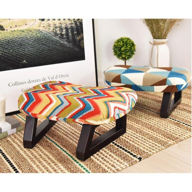 一件免運 小凳子 家用時尚創意 布藝 板凳 椅子 沙發凳 成人換鞋凳 穿鞋凳 實木矮凳 聊天凳 小椅