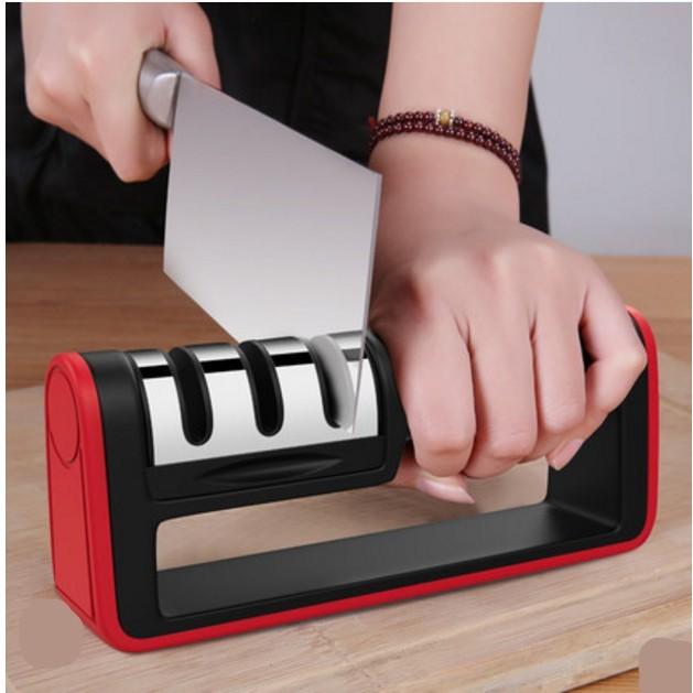 每天都用新刀磨刀石磨刀神器家用磨菜刀快速磨刀器廚房用品工具磨刀棒定角快速磨刀 - 金剛石升級款