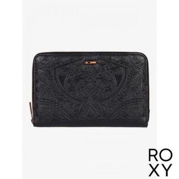 【ROXY】BACK IN BROOKLYN 皮夾 黑色