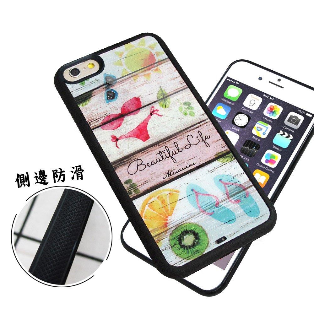 石墨黑系列 iPhone 6s / 6 4.7吋 高質感側邊防滑手機殼(比基尼)
