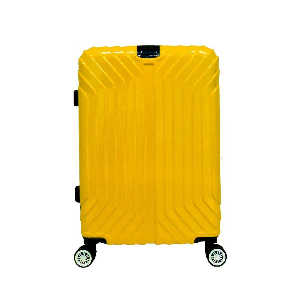 【RAIN DEER】E次元PLUS28吋PC+ABS行李箱-活力黃