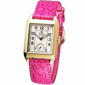 Rosemont 戀舊系列 時尚腕錶TN002-YW-BPK桃紅色