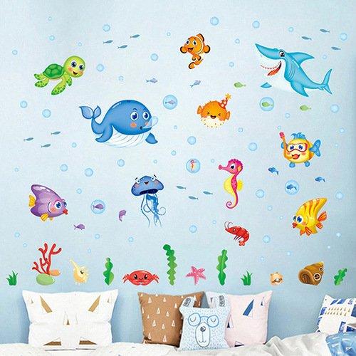 時尚壁貼 - 歡樂海洋世界