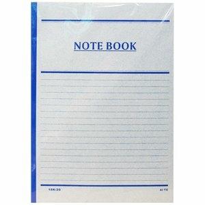 【愛德牌 筆記本】183 18K平裝筆記本/橫線筆記本 (20頁/本)