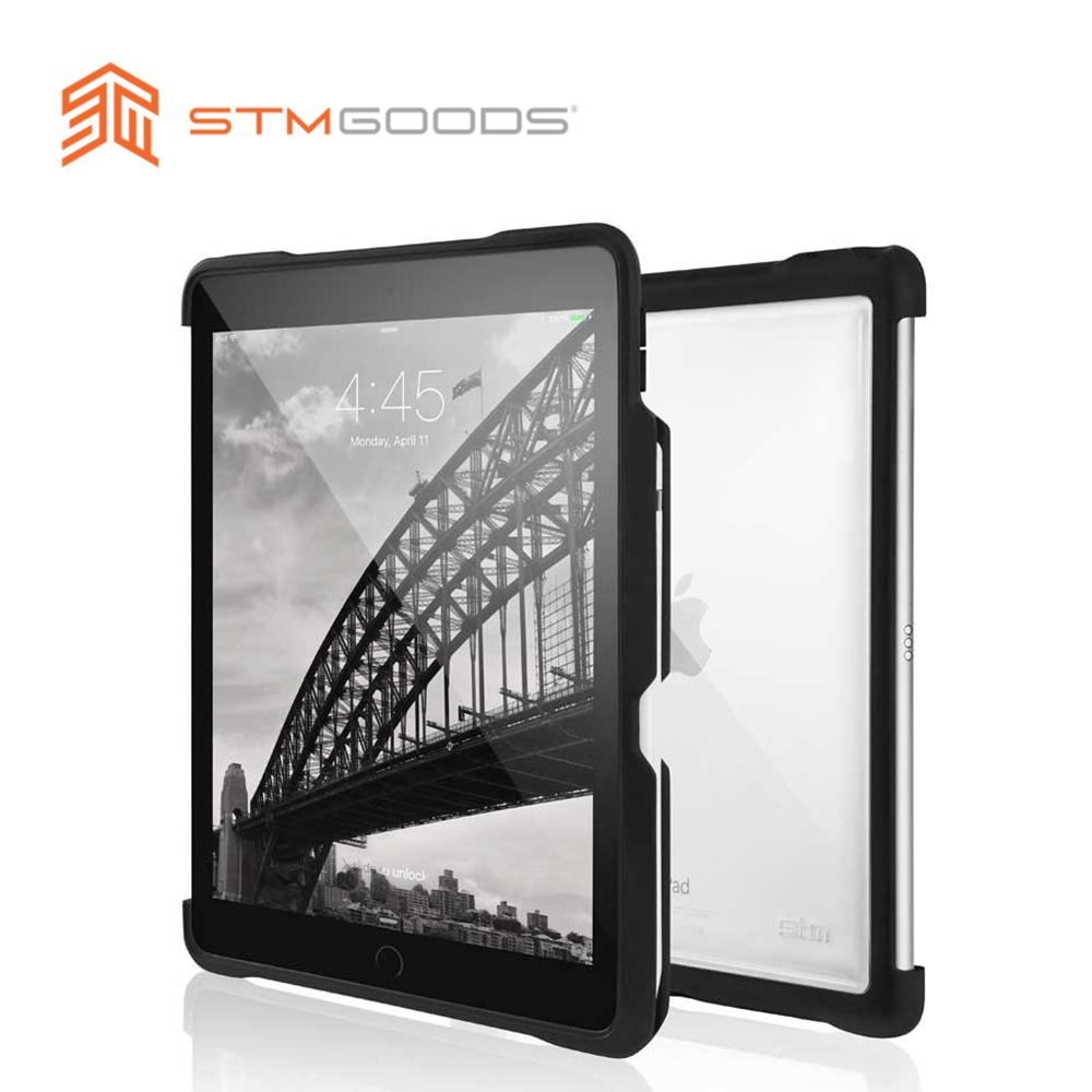 澳洲【STM】Dux Shell Duo 系列 iPad Air (第三代) 10.5吋 軍規防摔保護殼 (黑)