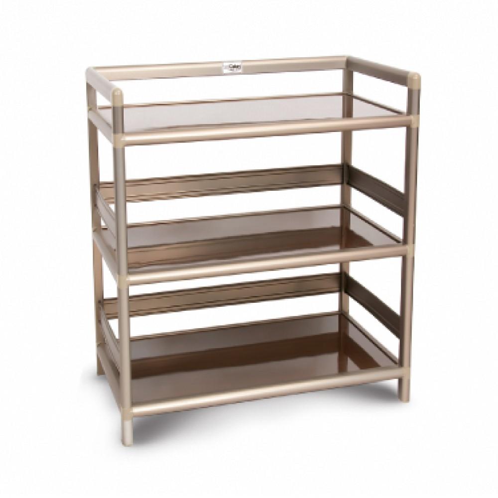 as-黑桃木得意2.5尺鋁合金三層架-73.5x50.8x82.4cm