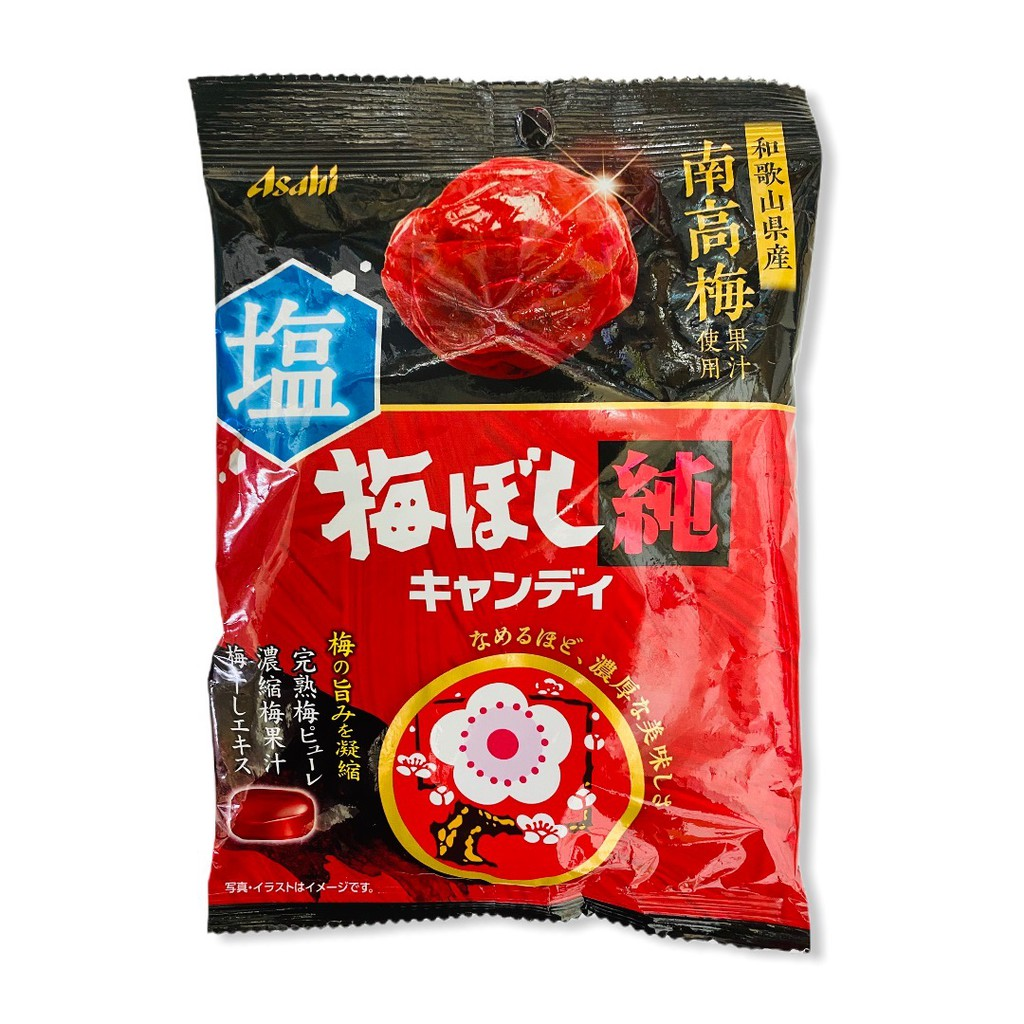 ASAHI朝日 純濃南高梅鹽糖 88g