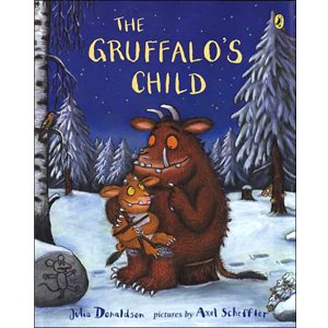 The Gruffalo's Child 怪獸古肥玀的小孩 繪本