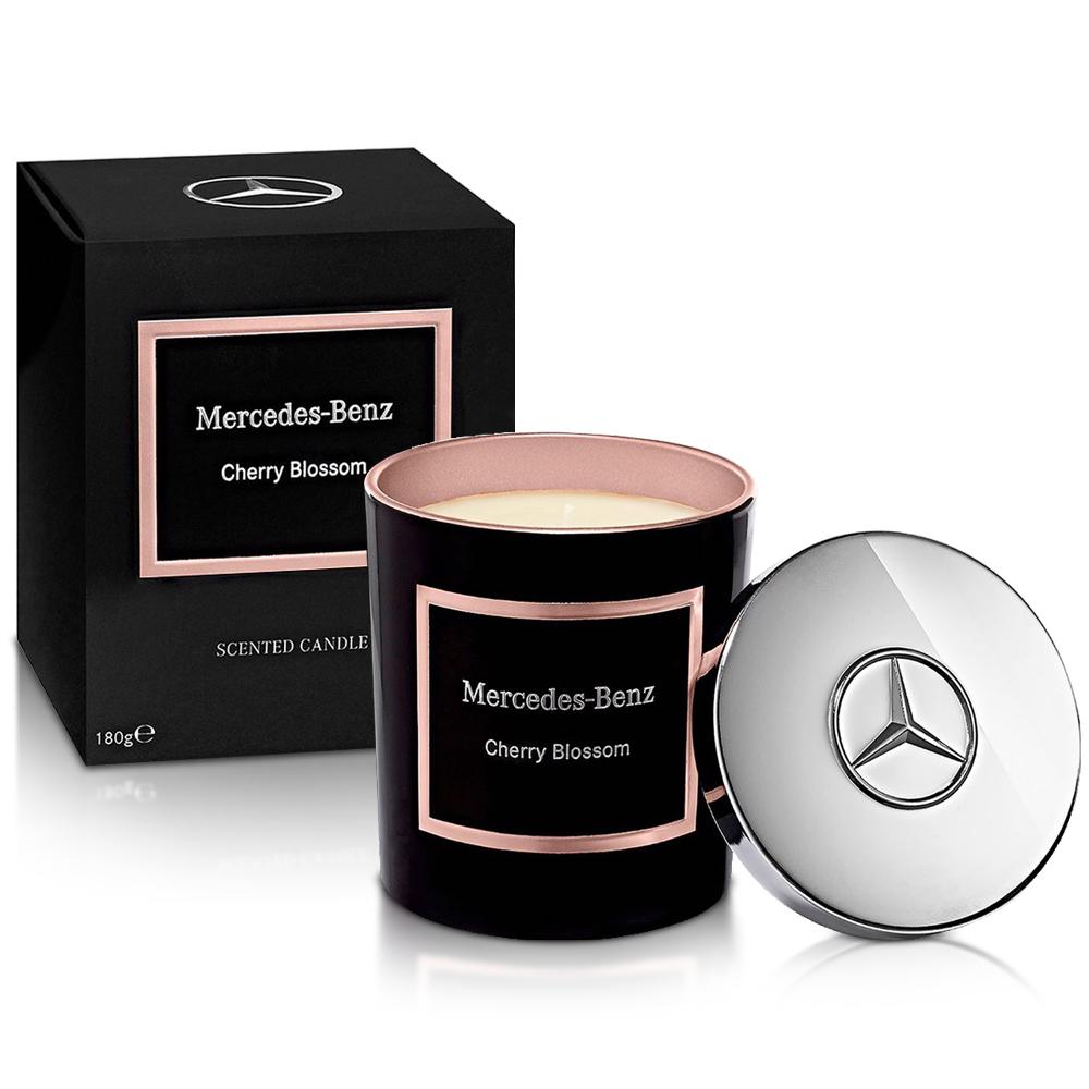 Mercedes Benz 賓士 櫻花綻放頂級居家香氛工藝蠟燭(180g)-原廠公司貨