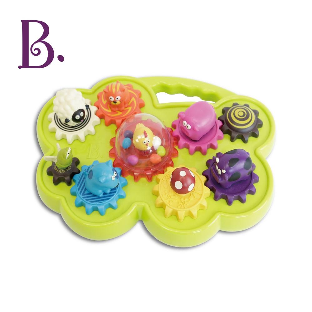 美國B.Toys 轉圈圈合聲農場