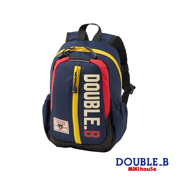 DOUBLE_B 美式休閒風格雙肩後背包(藏藍)