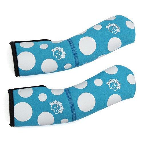 Babybabe 傘車手把防護套 (超值2入) (藍色/藍色)