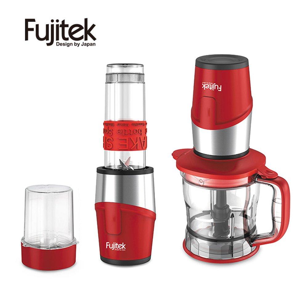【Fujitek】富士電通多功能隨行杯冰沙調理機(FT-JEM5725R)