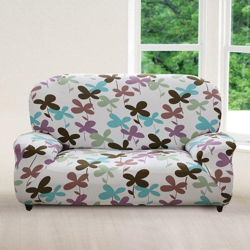【格藍傢飾】幸運草香彈性沙發套3人座