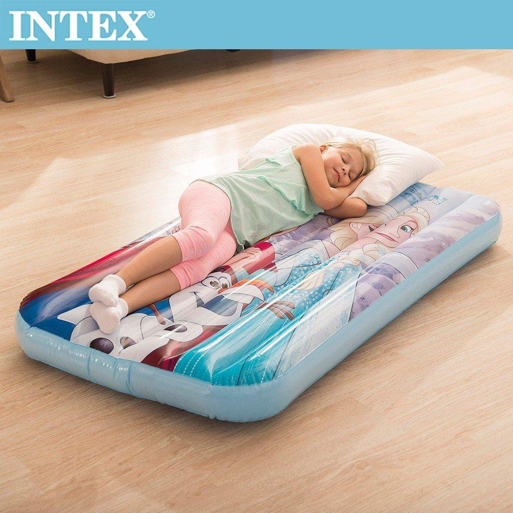 【INTEX】FROZEN冰雪奇緣ELSA-兒童充氣床(48776)