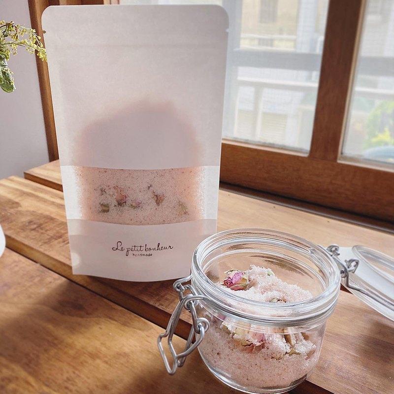 喜馬拉雅玫瑰沐浴鹽 125g補充包