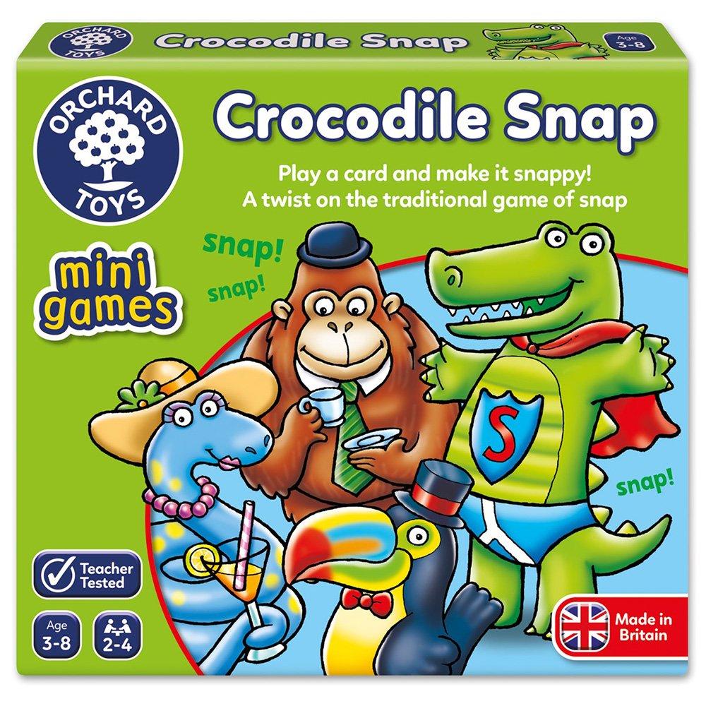 【英國Orchard Toys】可攜桌遊-鱷魚出沒